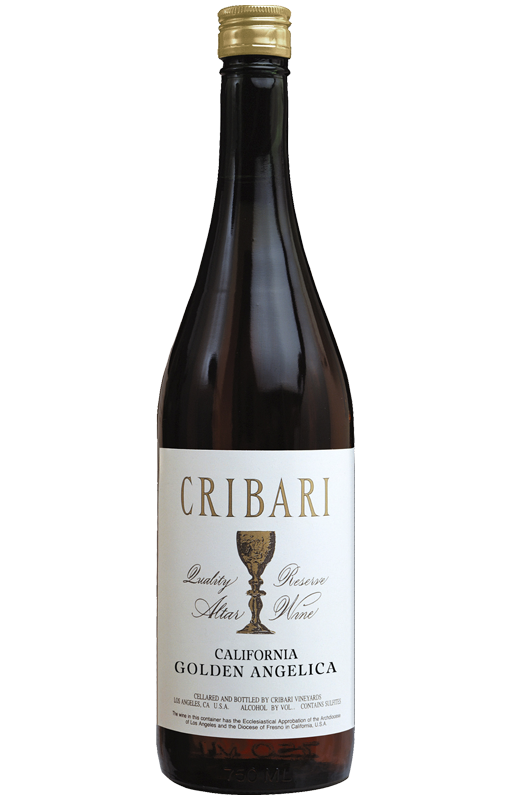 Golden Angelica - Cribari Altar Wine