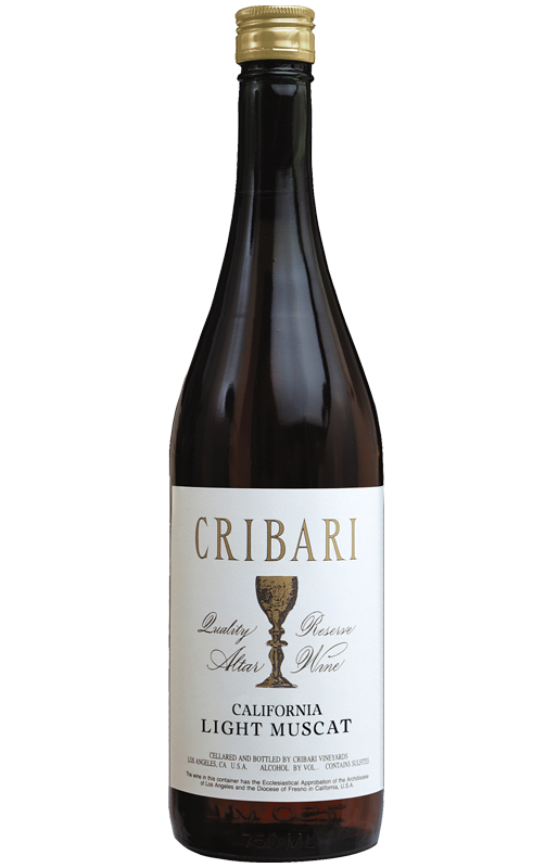 Light Muscat - Cribari Altar Wine
