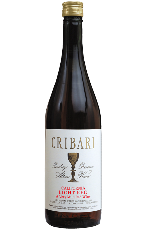 Light Red - Cribari Altar Wine